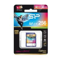 Silicon Power 256GB SDXC 4K SUPERIOR PRO UHS-I U3 90MB/S FOR DSLR , CAMERA , CAMCORDER , GOPRO,3D CAMERA