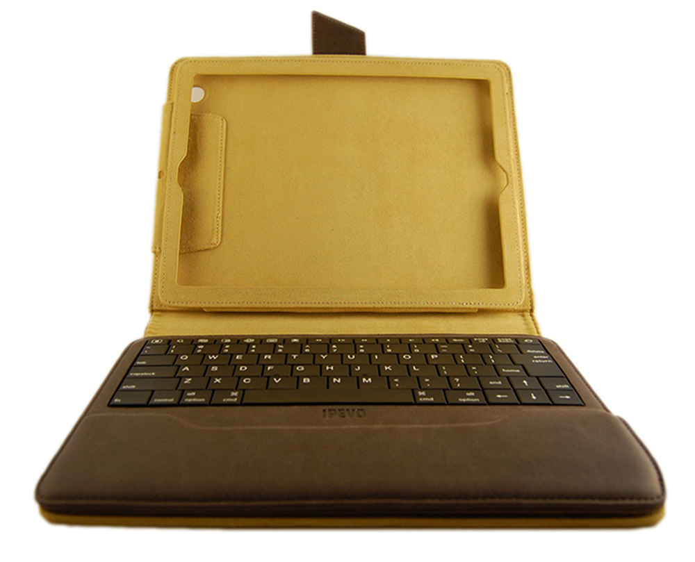 IPEVO Typi Case+Wireless Keyboard for iPad Tan