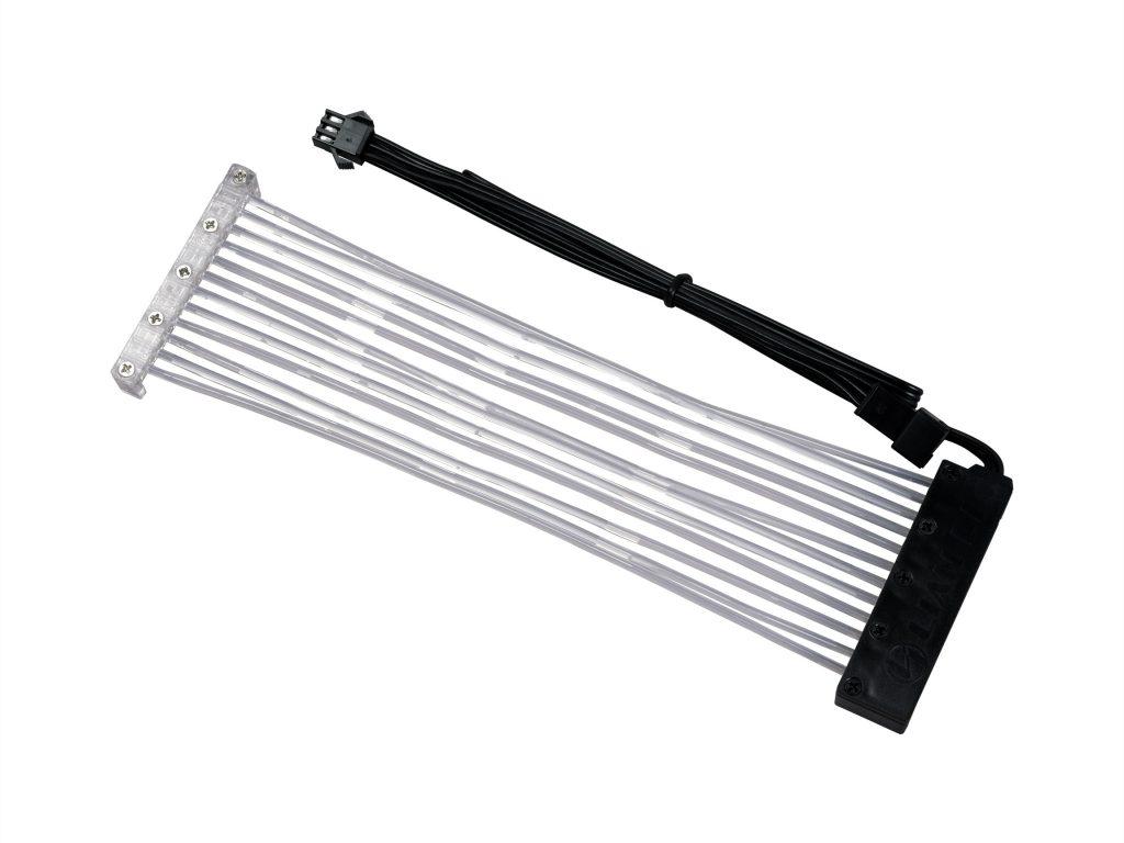Lian Li PW24-24 Strimer RGB 24-Pin PSU Extension Cable