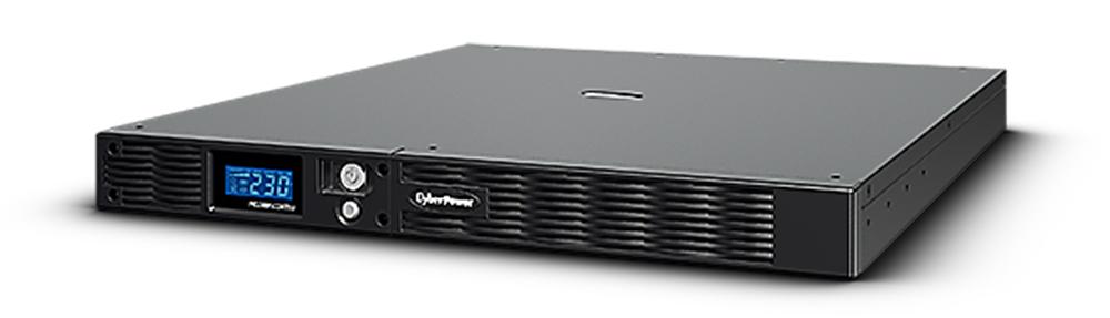 CyberPower PRO Rack LCD 1000VA / 670W 1U Line Interactive UPS