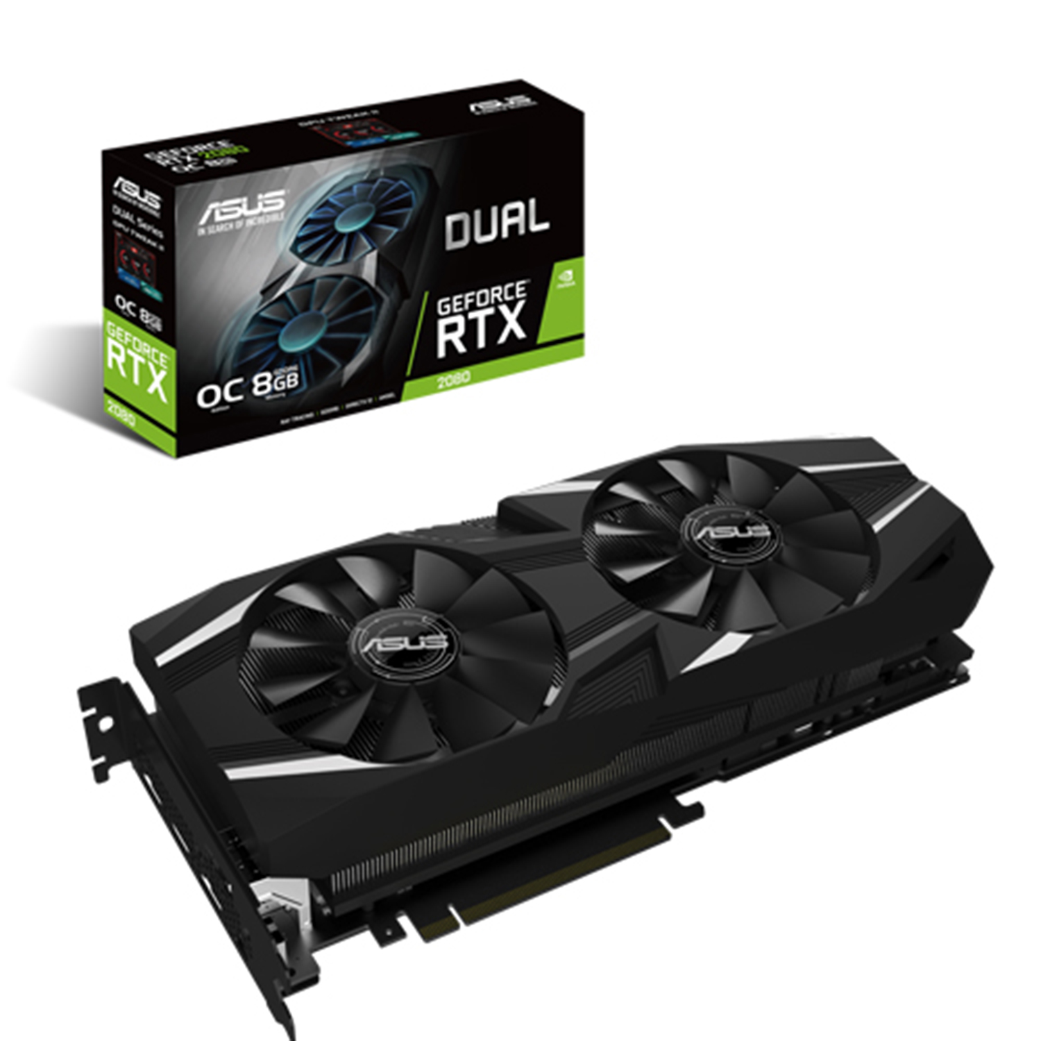 Asus GeForce RTX 2080 Dual 8G OC Graphics Card