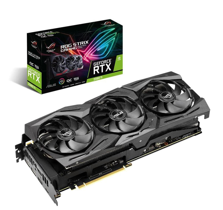 Asus GeForce RTX 2080 Ti Strix Gaming 11G OC Graphics Card