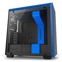NZXT H700 Mid Tower Chassis - Black/Blue