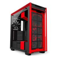 NZXT H700 Mid Tower Chassis - Black/Red