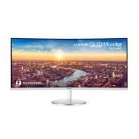 """Samsung LC34J791WTEXXY 34"""" Curved Thunderbolt QLED Monitor"""