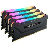 Corsair 32GB (4x8GB) CMW32GX4M4C3466C16 Vengeance RGB PRO DDR4 3466MHz 288 DIMM, Unbuffered