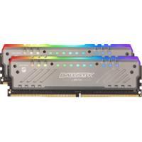 Ballistix by Crucial 32GB (2x16GB) RGB DDR4 2666 MT/s (PC4-21300) CL16 DR x8 Unbuffered DIMM 288pin