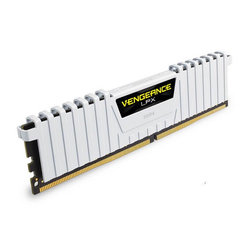 Corsair 16GB (2 x8GB) CMK16GX4M2B3000C15W DDR4 3000MHz Vengeance LPX White