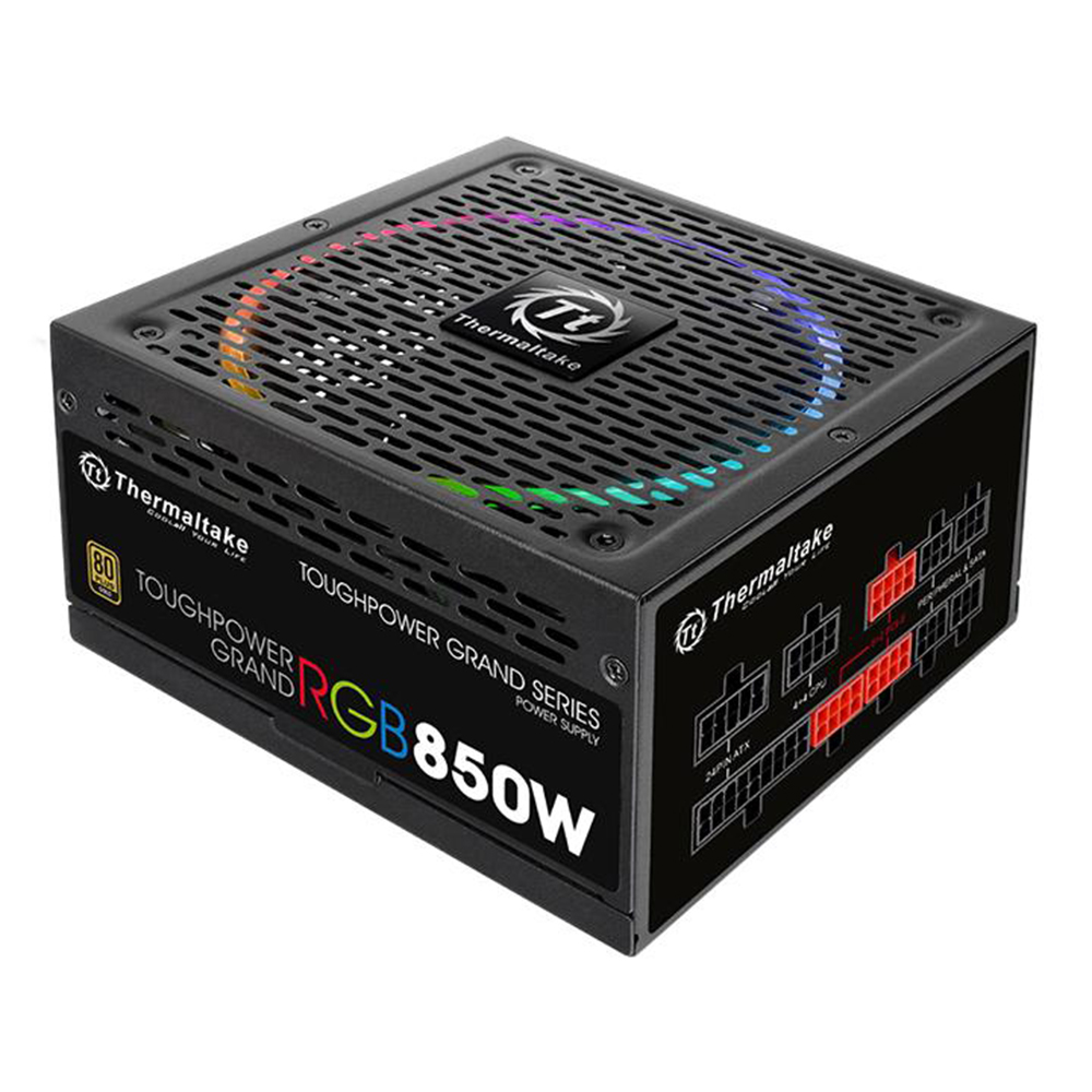 Thermaltake 850w Toughpower Grand RGB 80+ Gold Power Supply(RGB Sync Edition)