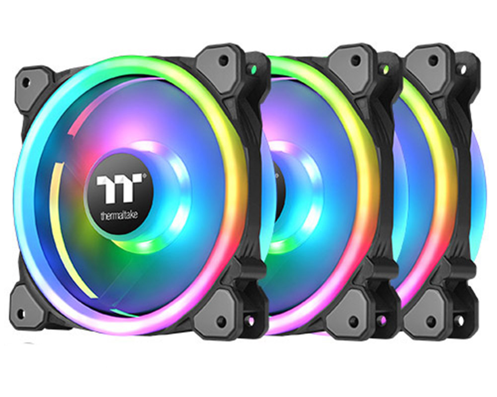 Thermaltake Riing Trio 120mm RGB Fan TT Premium Edition (3 Fan Pack)