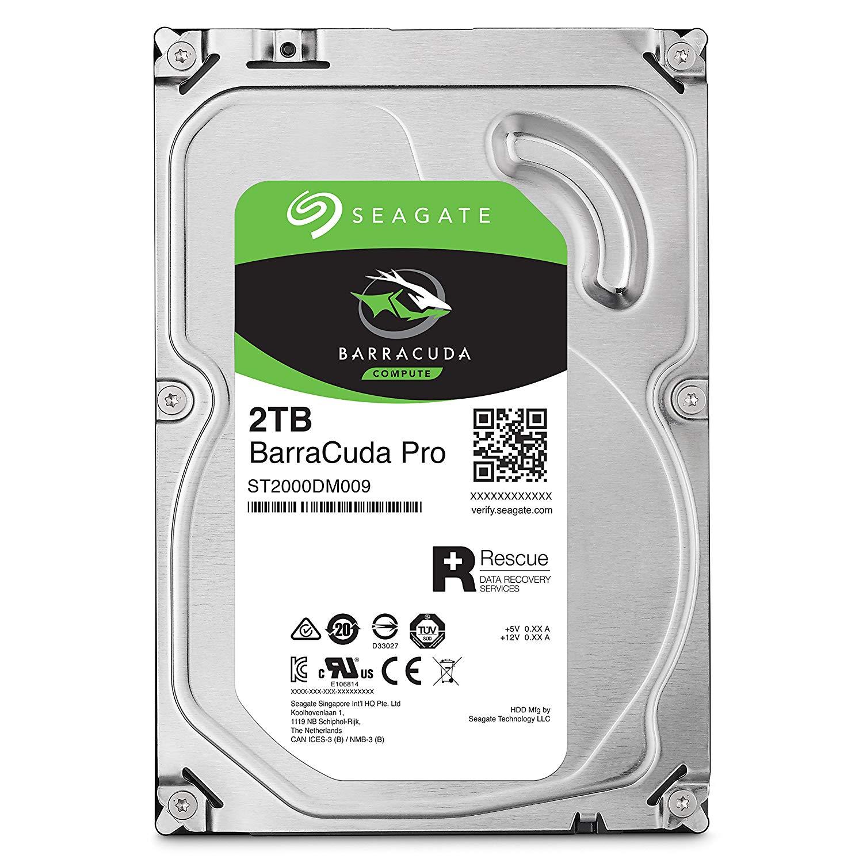 Seagate BarraCuda Pro 2TB HDD 3 5