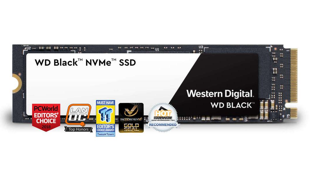 WD 250G Black M.2 NVMe SSD