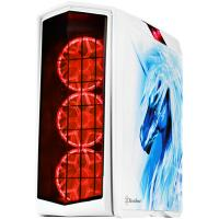 Silverstone PM01W-FX Primera White ATX Case Window No PSU