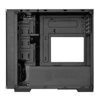 SilverStone Lucid Series LD01 Black Tempered Glass Micro ATX Case