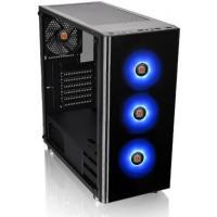 Thermaltake Versa J24 RGB Edition ATX Tempered Glass - Black