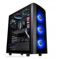 Thermaltake Versa J25 RGB Edition ATX Tempered Glass - Black