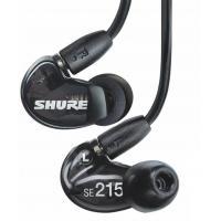 Shure SE215 Black Earphones Sound Isolating