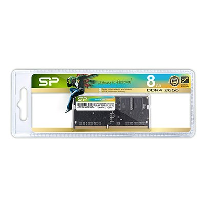 Silicon Power 8GB DDR4 2666Mhz CL19 SODIMM Laptop RAM