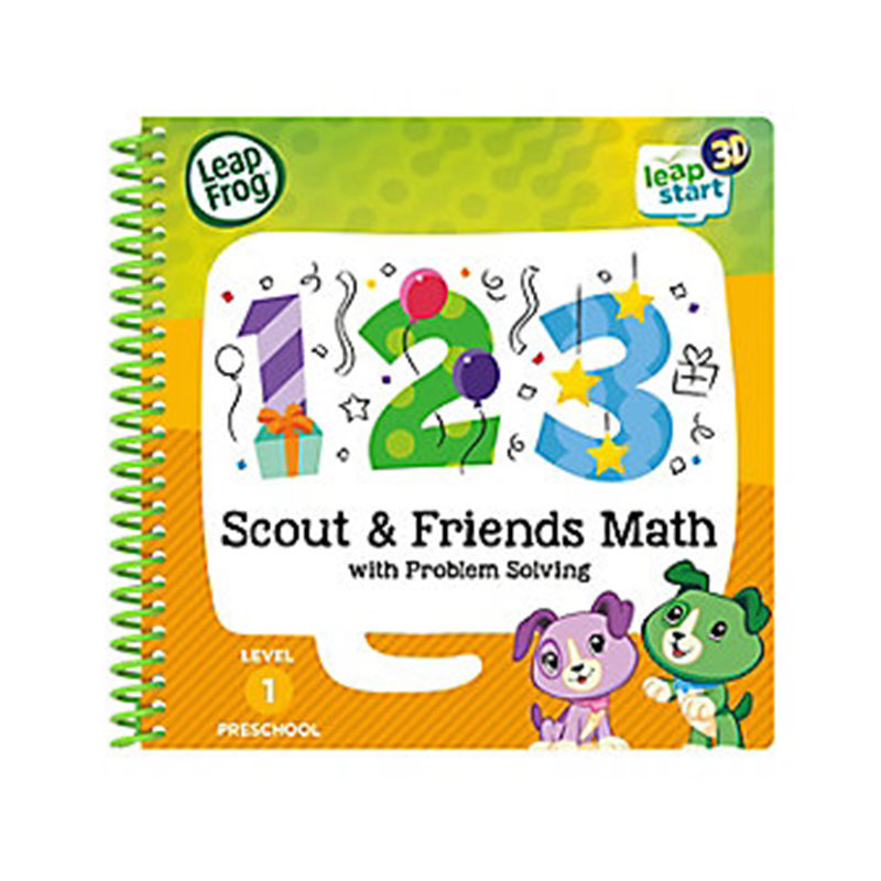 LeapFrog LeapStart Scout & Friends Math with Problem Solving-3D Enhanced