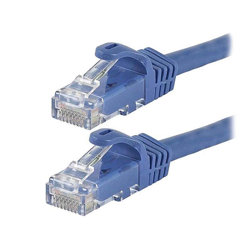Startech 2m Blue Gigabit Snagless RJ45 UTP Cat6 Patch Cable - 2 m Patch Cord - 2m Cat 6 Patch Cable