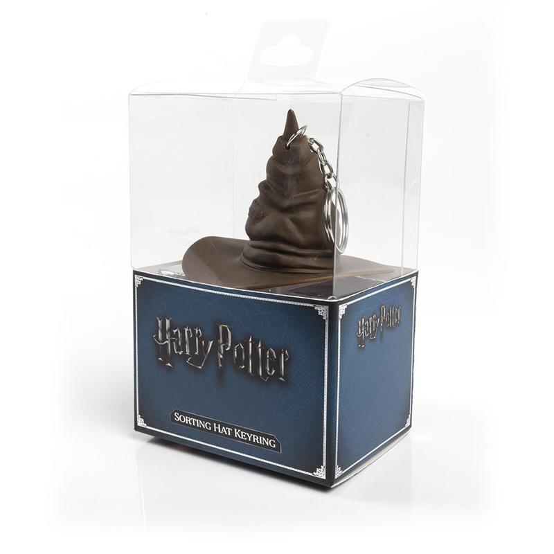 Harry Potter - Hogwarts Sorting Hat Keyring with Sound