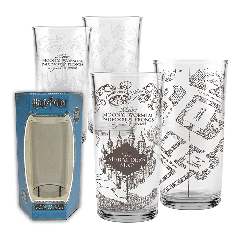Harry Potter - Marauders Map Cold Change Glass