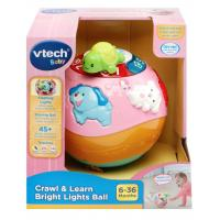 VTech Crawl & Learn Brights Ball Pink Refresh