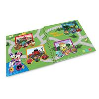 LeapFrog LeapStart book Mickey and the Roadster Racers Pit Crews to the Rescue 3D Enhanced