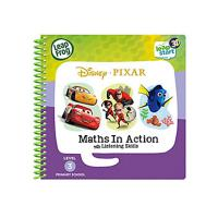 LeapFrog LeapStart book Disney Pixar Pals Maths in Action 3D Enhanced