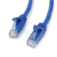 Startech 2m Blue Gigabit Snagless RJ45 UTP Cat6 Patch Cable - 2 m Patch Cord - 2m Cat 6 Patch Cable