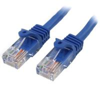 Startech 1 m Blue Cat5e Snagless RJ45 UTP Patch Cable