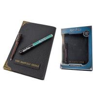 Harry Potter - Tom Riddle's Diary Notebook with Invisible Ink Pen & Wand