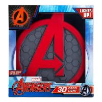 3D Deco Light Marvel Avengers Logo