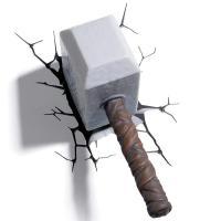 3D Deco Light Marvel Thor's Hammer