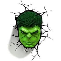 3D Deco Light Marvel Hulk face