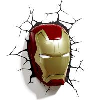3D Deco Light Marvel Iron Man 3 Mask