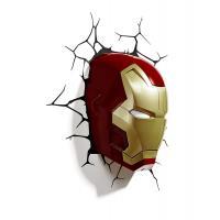 3D Deco Light Marvel Iron Man 3 Mask