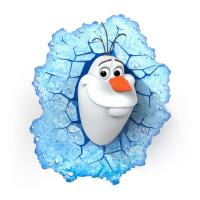 3D Deco Light Disney Frozen Olaf
