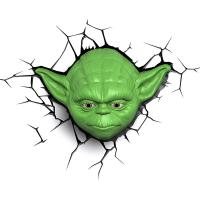 3D Deco Light Star Wars Yoda