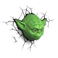 3D Deco Light Star Wars Yoda