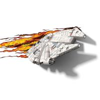 3D Deco Light Star Wars Millennium Falcon