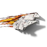 3D Deco Light Star Wars Millennium Falcon