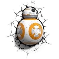 3D Deco Light Star Wars BB8