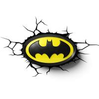 3D Deco Light Batman Logo Projection Light