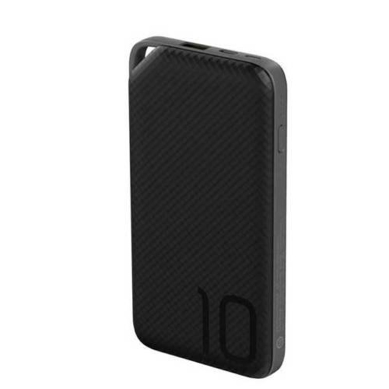 Huawei Quick Charge 10000mAh Dual USB Input USB-A Output Power Bank - Black