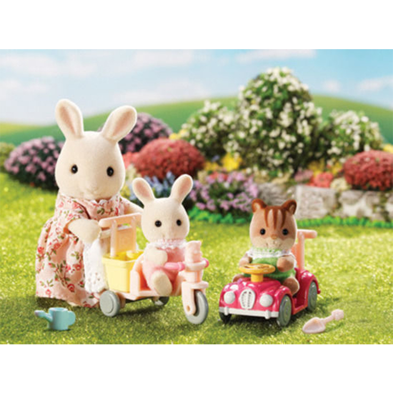 Sylvanian Familes Babies Ride and Play