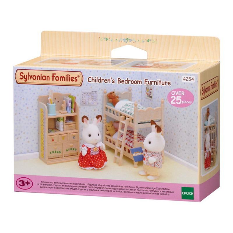 Sylvanian Familes Children's Bedroom Furniture Set