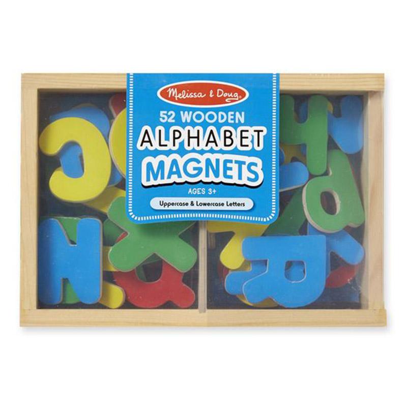 Melissa & Doug Alphabet Magnets - 52pc