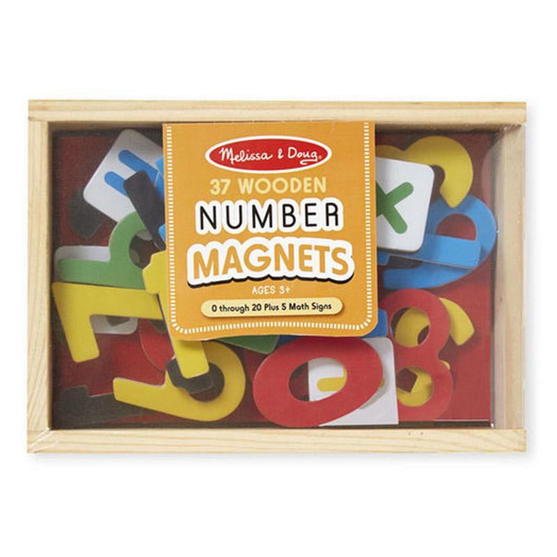 Melissa & Doug Number Magnets - 37pc