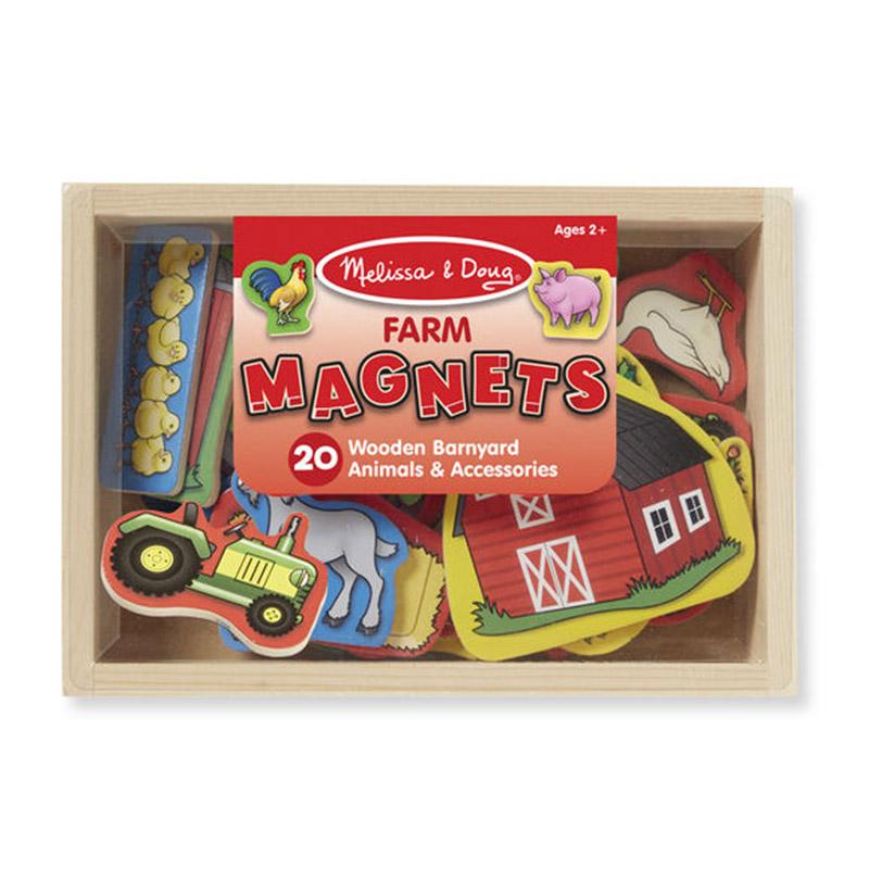 Melissa & Doug Farm Magnets - 20pc